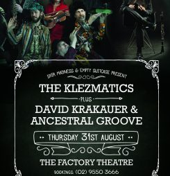 Klezmatics/Krakauer to Perform in Sydney